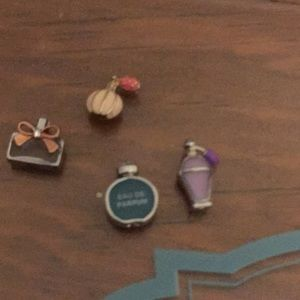 Origami owl retired perfume bottles bundle